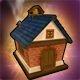 Brick School Mini House (Multi)(30 Days)