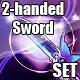 Stylish 2-Handed Sword Set