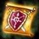 Handelbares Amulett der Macht (+50% Schaden und Verteidigung)(2 Stunden)(10 Stück)