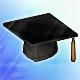 Chapeau de diplômé (+2% Crit)(30 jours)