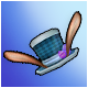 Mad Hopper's Blue Opera Hat (+7% Crit)(30 Days)