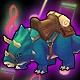 Titanus the Triceratops (Speed 200)(Permanent)
