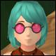 Darling Glasses (3% Def)(3% Dmg)(30 Days)