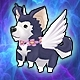 Baby Angelic Canine (+8 Stats)(30 Days)
