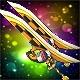 Pierrot Dual Swords (5,000 Durability)