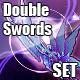 Stylish Dual Swords Set