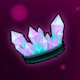 Ice Pink Crystal Crown (Permanent)
