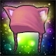 Pink Meowlicious Hood (4% Eva)(30 Days)